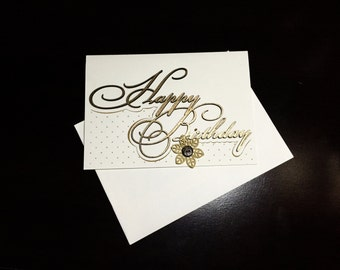 Happy Birthday Card - Simple and Unique