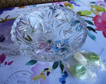 Small Crystal Candy Dish