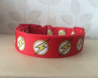 Handmade Dog Collar - Flash