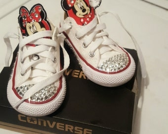 Customized Converse MINNIE MOUSE