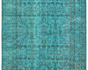 turquoise rug vintage rug area rug home and living area rug