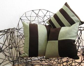 Pillows Green/Brown
