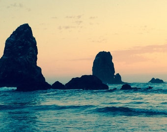 Cannon Beach Sunset by CambriGrace