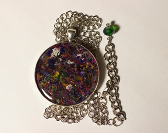 Color Explosion Pendant
