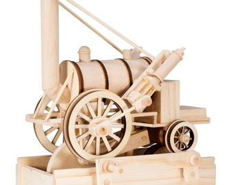 BB Wooden Automata - The Rocket