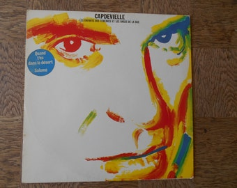 """Vinyl CAPDEVIELLE """"children of darkness and the angels of fear"""