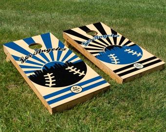 Los Angeles Dodgers Cornhole Board Set