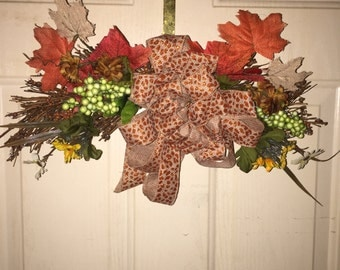 Fall Swag Wreath
