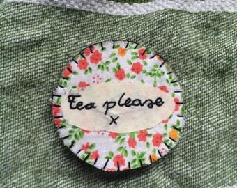 Tea please Badge