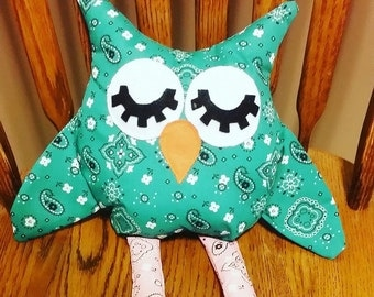 Stuffed owl