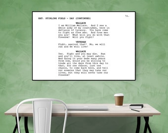 Braveheart - Screenplay Movie Poster