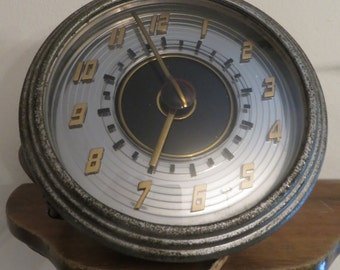 1947 ford clock for hot rod rat rod collectible display Lincoln Continental w/free ship