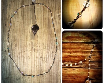 Criostail: Handmade Crystal Necklace