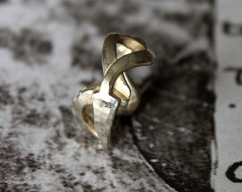 """Capricorn"", 925, cast sterling silver ring."