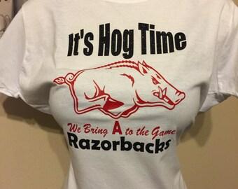 "Arkansas ""Hog Time"" Razorbacks"