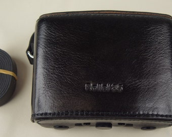 Black Hard Leather Case for Rollei 35 Series Cameras