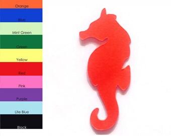 25 Pack - Paper Seahorse Shape, Seahorse Die Cut, Seahorse Cut Outs, Sea Creature Shapes, Paper Supplies