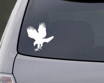 Hawk Car Decal Vinyl Hawk Car Sticker