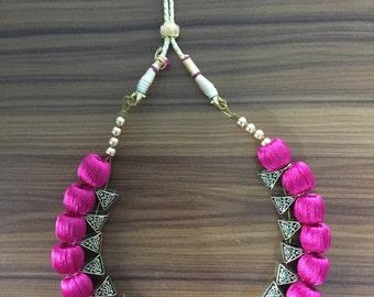 Pink bail set