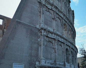 Roman Colosseum, Instant Download, Italy Photo, Roma, Rome, Italy