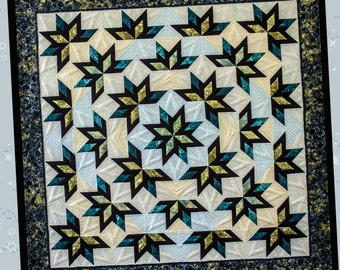 Shooting Stars Foundation Paper Pieced Pattern