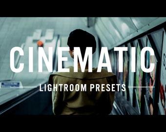 60 Cinematic Presets for Adobe Lightroom
