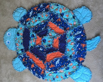 Turtle rag quilt : turtle rag quilt - Adamdwight.com
