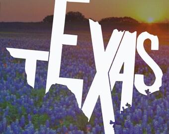 Texas Decal, Yeti Decal, Laptop Decal, Laptop Sticker, Texas Sticker, Macbook Decal