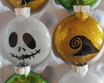 Nightmare before christmas ornament set