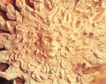 Lady of the Forest Clay Sculpture