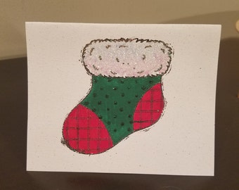 Handmade Christmas Card - Item #GC00012