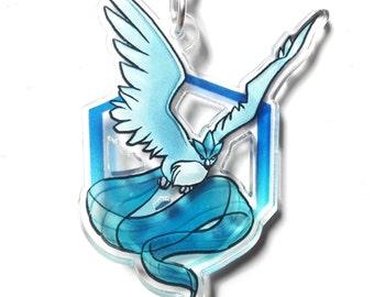 Pokémon GO Team Mystic charm