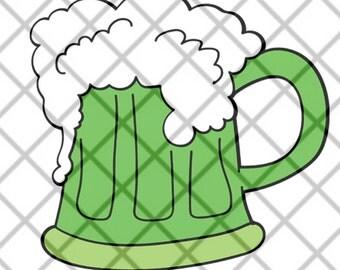 Green Beer SVG