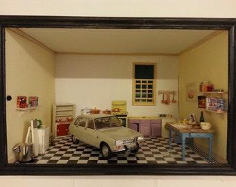 Renault 16 Diorama