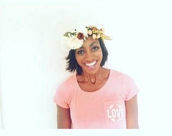 Flower crown: Ophelia