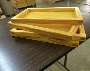 "Silk Screen Frame for Screen Printing (8X12"") with high quality mesh"