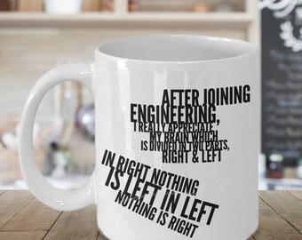 Engineer Mug, Engineer Gifts, Engineering Gifts