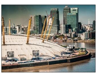 London Fine Print: The O2 Arena