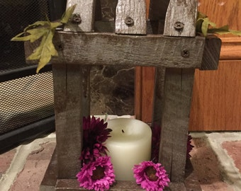 Rustic Candle Lantern