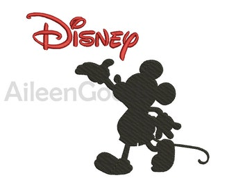 Mickey mouse  Embroidery  design 11 Size INSTANT download machine embroidery