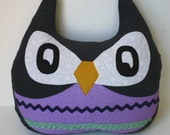 Lavender the Owl stuffed large pillow
