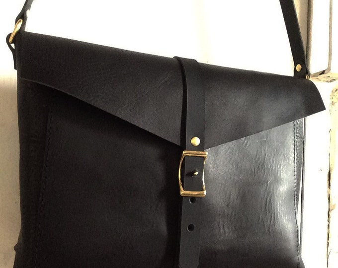All black Brooklyn Bag
