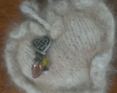 Custom Order for Pamela, Please do not buy unless you are her.  2 Small Pet Fur Hearts