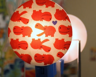 Hippo Love Nightlight