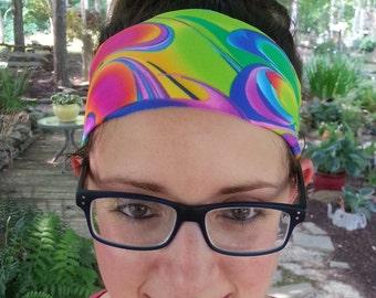 Headband | Yoga Headband | Athletic Headband | Sporty Headband | Spandex | Wide  | Activewear Headband |