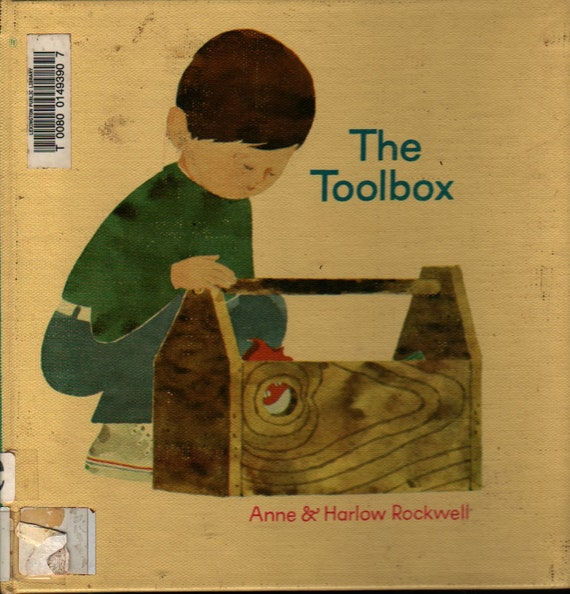The Toolbox - Anne & Harlow Rockwell - 1971 - Vintage Kids Book
