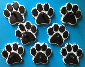 CUSTOM Order for Kim C - SPOTTED Paw Print Leash Holders