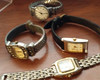 Vintage Watches for Steampunk Parts