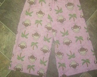 Girls Pajama Pants Flannel Lounging Pants Winter Pajamas 3 Years