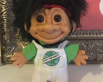 Save the Earth Troll Doll
